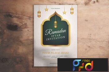 Ramadan Iftar Invitation Flyer 4