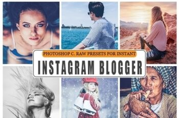 Instagram Blogger Photoshop Action 23703815 3