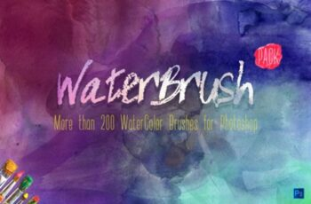 WaterBrush WaterColor Brushes PACK 1419548 7