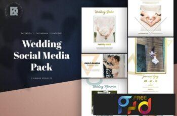Wedding Social Media Pack 5