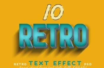 Retro Vintage Text Effects 23733346 8
