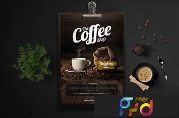 Coffee Shop Flyer 6