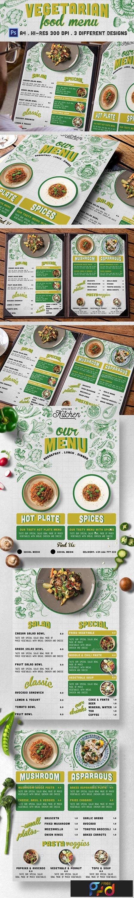 Vegetarian Restaurant Menu 20946908 1