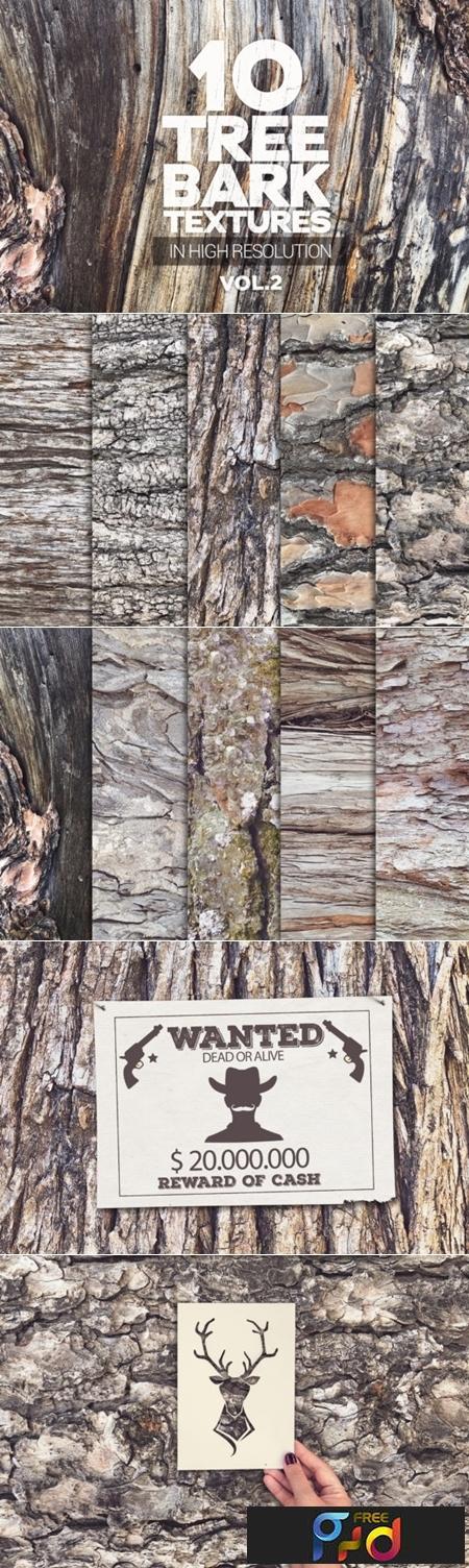 Tree Bark Textures X10 Vol2 1441125 1