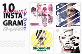 Instagram Post Template-Shop 3808293 3