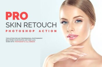 PRO Skin Retouch Photoshop Action 2