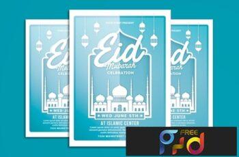 Eid Mubarak Flyer 2 3