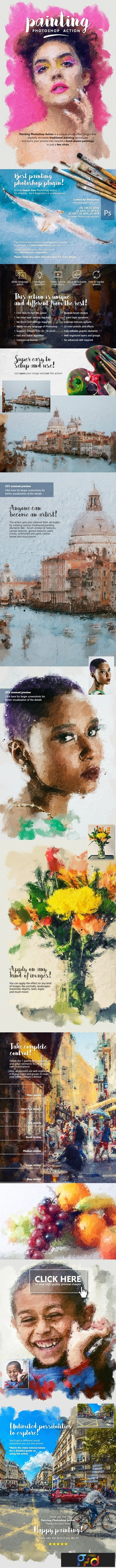 Painting Photoshop Action 23750254 1