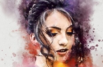 Watercolor Sketch FX - Photoshop Action 23729628 6