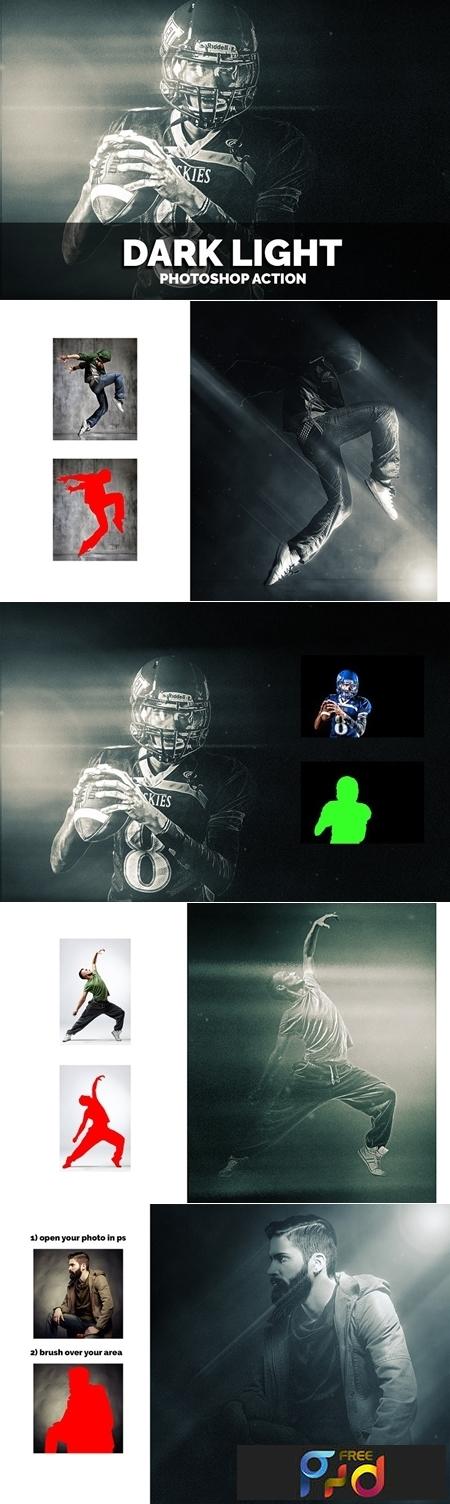 Dark Light Photoshop Actions 1