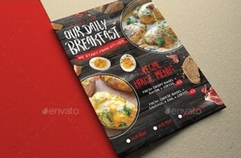 Rustic Breakfast Flyer 21781581 7