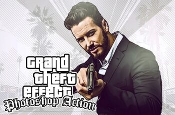 Grand Theft Effect Photoshop Action 23753323 7