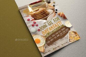 Simple Breakfast Flyer 21787129 3