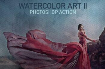 Watercolor Art II Photoshop Action 23768257 5