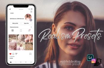 5 Realism Presets, Instagram Presets 260534 4