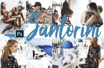 Santorini Color Grading Photoshop Action 260140 5