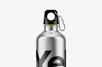 Steel Water Bottle Mockup 43023 5