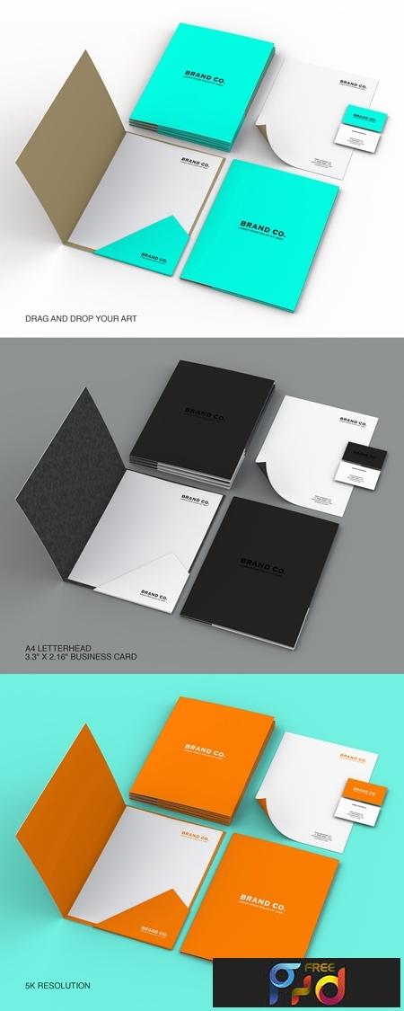 Bold Black and White Stationary Kit Layout 268391477 1
