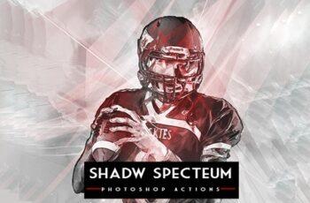 Shadw Specteum Photoshop Actions 4