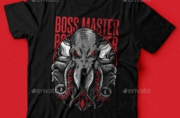 Boss Master T-Shirt Design 23843048 3