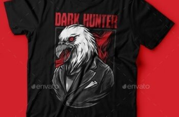 Dark Hunter T-Shirt Design 23843101 3