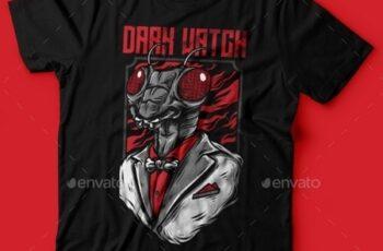 Dark Watch T-Shirt Design 23843037 6