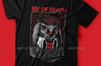 Sly of Death T-Shirt Design 23843095 2