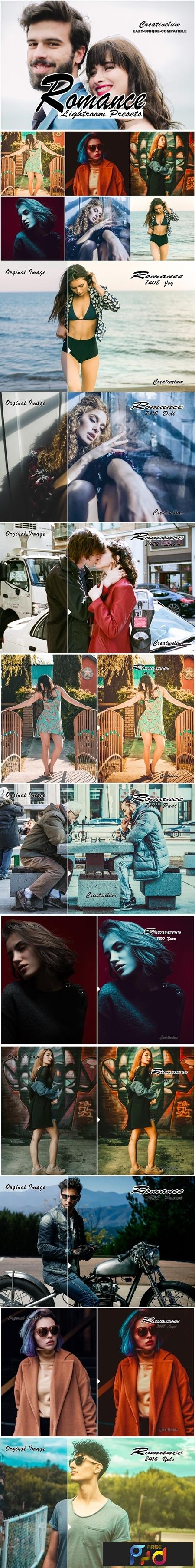 Romance instagram blogger Lightroom presets 1