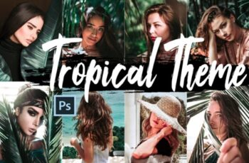 Tropical Color Grading Photoshop Actions 1412826 8