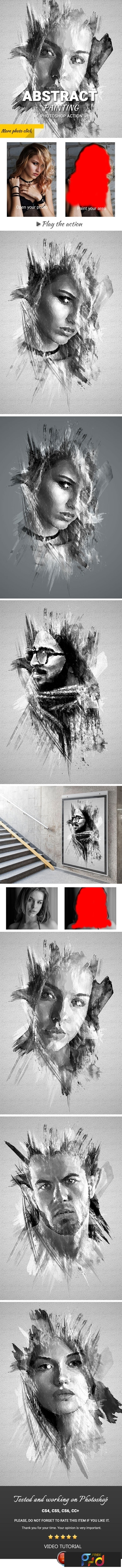Abstract Painting Photoshop Action 23725401 1