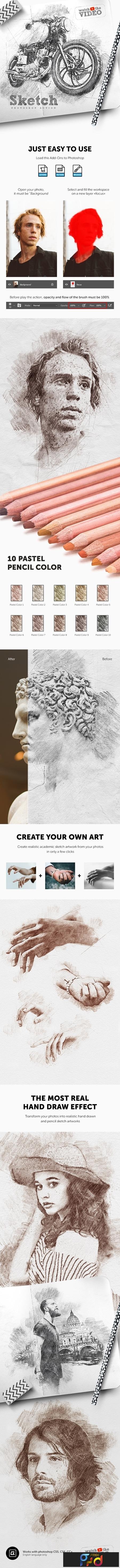 Sketch - Photoshop Action 23797082 1