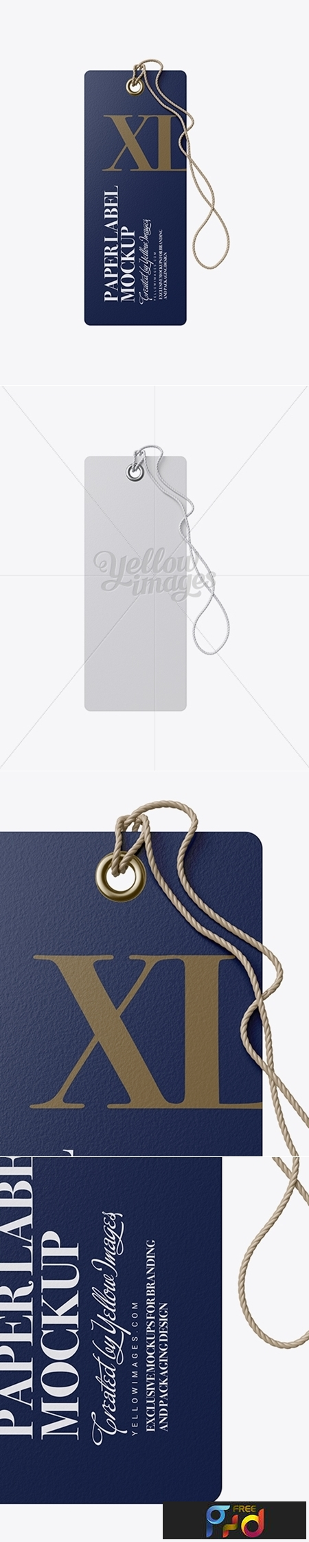 Paper Label With Rope Mockup 19092 1