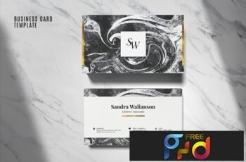 Elegant Business Card Template #06 6