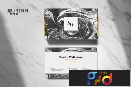 Elegant Business Card Template #06 1