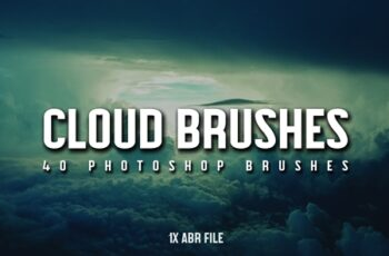 40 Cloud Brushes for Photoshop 3799716 7