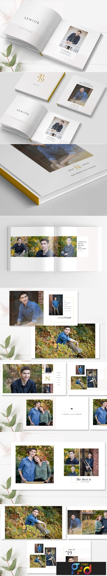Graduation Photo Album Template 3801943 1