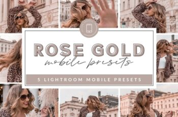 Rose Gold Mobile Presets 3658760 8
