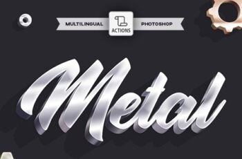 3D Metal - Photoshop Action 23755999 1