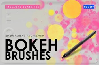 30 Bokeh Photoshop Brushes 3799814 2