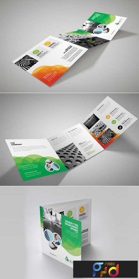 Business Square Trifold Brochure 3581039 1