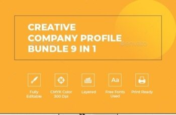 Creative Company Profile Bundle 9 in 1 23702556 1