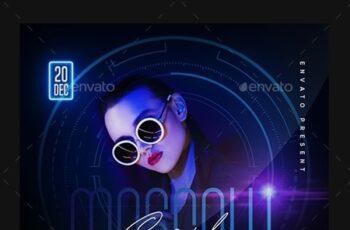 Night Club Flyer 23832626 8