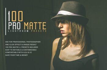 100 Pro Matte Lightroom Presets 8