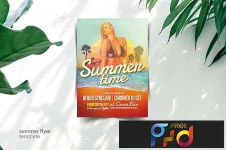 Summer Party Flyer 296AGSN 1