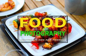 Food Photography Lightroom 8