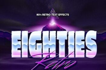 80s Retro Text Effects vol.3 23856557 6