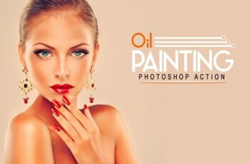 Oil Painting Photoshop Action 8