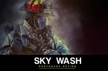 Sky Wash Photoshop Action 4