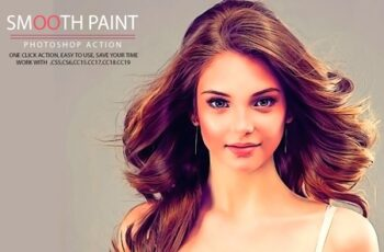 Smooth Paint Photoshop Action 6