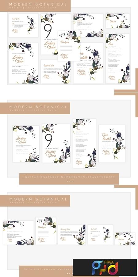 Modern Botanical Wedding Suite 3751973 1